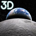 Earth & Moon  Parallax 3D Live Live Wallpaper