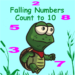 Falling Numbers Count to 10 Action Game