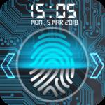 Fingerprint lock screen