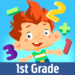 First Grade Math by Play & Learn