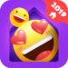 IN Launcher – Love Emojis & GIFs, Themes