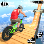 Mega Ramp Crash Stunts BMX Bike Racing Challenge
