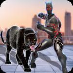 Multi Panther Hero Crime City Battle