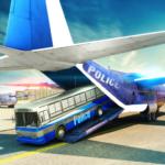 Police Airplane Transporter Vehicle