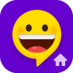 Quick SMS Launcher: Emoji, Customize Chat