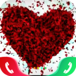 Rose Love Caller Screen