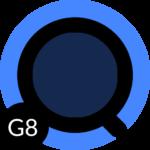 [UX8] Theme Android Q Black LG G8