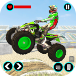 Xtreme Quad Bike Demolition Derby Racing Stunts